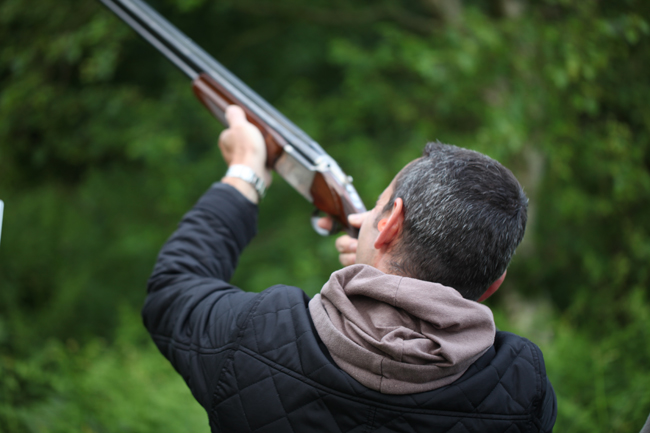 Carl Clay Pigeon Shooting