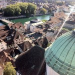 Solothurn from above.