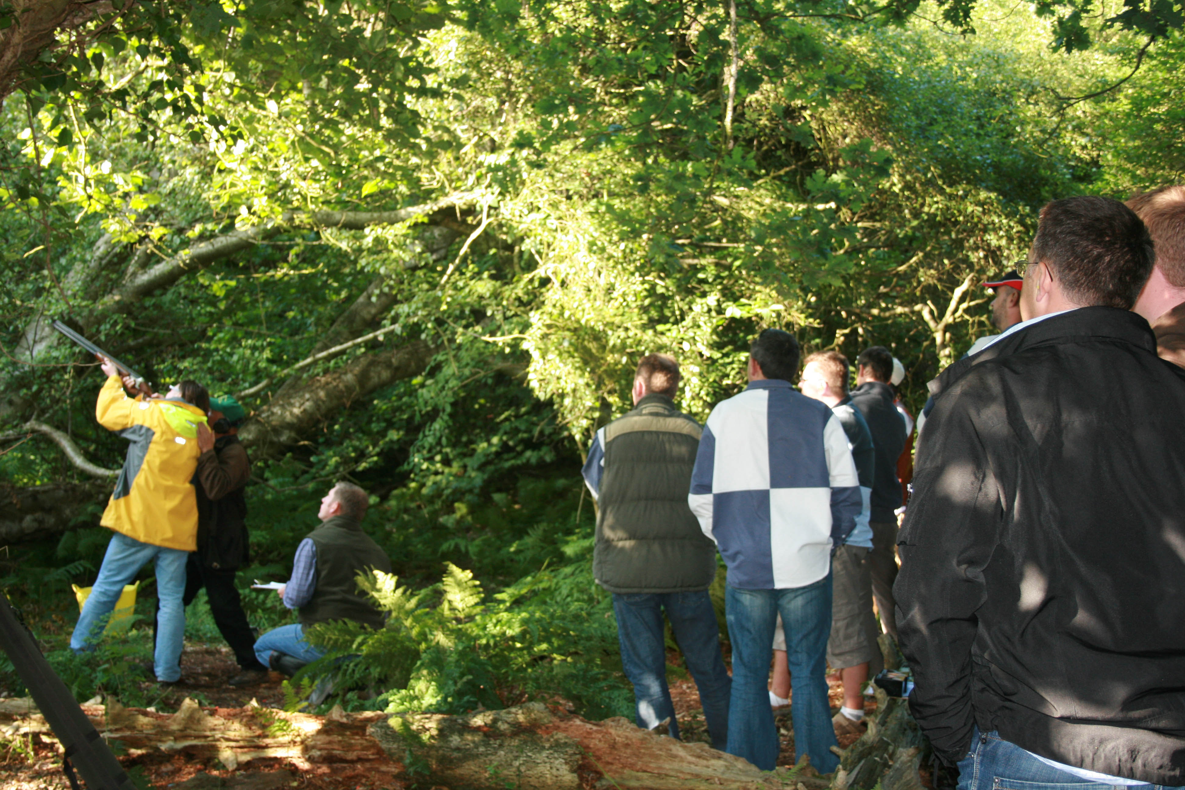Ryde Round Table and Isle of Wight Round Table clay Pigeon Shoot